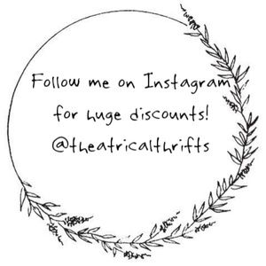Follow Me On Instagram For Discounts!